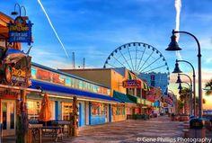 Myrtle Beach SC. boardwalk
