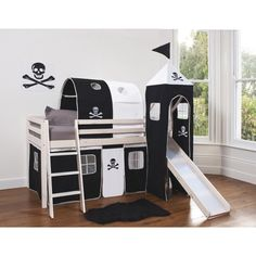 Pirate Bed With Slide