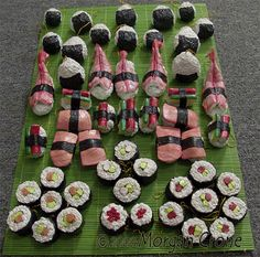#Sushi Ornaments