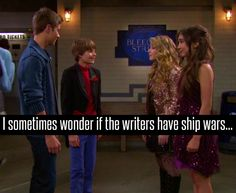 """I can literally imagine the writers standing over tables of crumpled up paper all shouting things at each other like """"WHY DO YOU CARE SO MUCH ABOUT RUCAS, RUCAS HAPPENED IT'S SOMEBODY ELSES TURN NOW"""" or """"COME ON YOU WIMP YOU SPENT AGES TRYING TO MAKE YOUR PRECIOUS LUCAYA HAPPEN AND YOU DIDN'T EVEN GIVE THEM A KISS"""" or """"GUYS, GUYS STOP! I HAVE JUST BEEN ON YOUTUBE DID YOU GUYS KNOW THEY SHIP ZAY AND SMACKLE!!"""""""