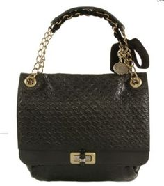 lanvin happy bag black quilted leather