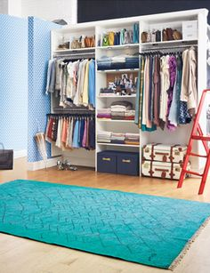 my next project is turning my bedroom nook into an awesome closet from floor to ceiling