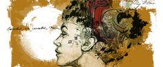 """Flea Market Girl,"" an illustration by Brian Yap"