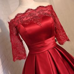 short prom dresses short prom dress red prom dress by YIMISTYLE