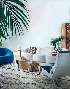 Sofa ligne roset Cushions by Darkroom London.