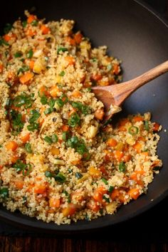Meatless Monday: Quinoa Fried Rice - Feed Me Phoebe