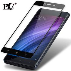 PLV Full Cover Tempered Glass For Xiaomi Redmi 4 4X 4 Pro 4 Prime For Redmi Note 4 Pro Note 4X Screen Protector Toughened Film #PLV #other #popular #november2017 #useful