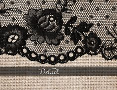 Aged Linen and Lace Digital Paper by Origins Digital Curio on @creativemarket