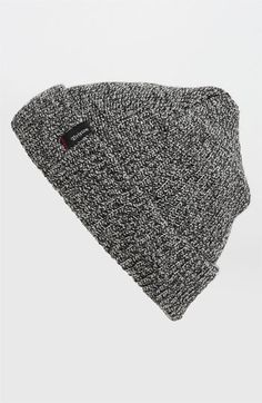 Brixton 'Heist' Rib Knit Cap (Men) available at Mens Beanie Hats, Knit Stockings, Just For Men, Sporty Style, Mens Caps, Rib Knit, Knitted Hats, Winter Hats, Nordstrom