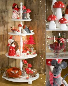 Wooden display from Advent im Winterwald - I want to make one!