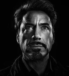 Robert Downey jr   by MarcoGrob
