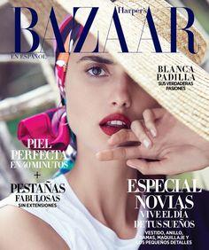 Blanca Padilla for Harper's Bazaar Mexico April 2018