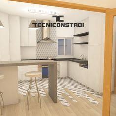 Remodelação-de-Cozinha-0 Corner Desk, Cabinet, Storage, Furniture, Home Decor, Apartment Makeover, Kitchen Remodeling, Kitchens, Corner Table