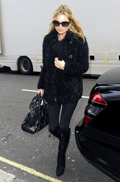 Kate Moss Photos: Kate Moss and Sadie Frost Out and About