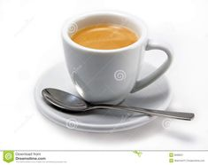Small Picture of a Cup of Espresso Simple Illustration, Bar Grill, Espresso Cups, Brewing, Spoon, Tea Cups, Match Boxes, Tableware