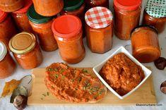 Zacusca de vinete - reteta mamei mele | Savori Urbane Chicken Wings, Meat, Recipes, Food, Canning, Essen, Meals, Ripped Recipes, Eten