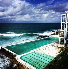 Why didn't I jump in #bondi #bondibeachsydney #sydney #bondiicebergs by fabianfan http://ift.tt/1KBxVYg