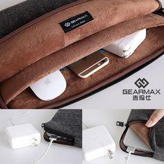 Gearmax 11-15 Inch Drop Resistance Laptop Bag / Sleev for Macbook