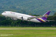 HS-TQA // Thai Airways International Boeing 787-8 Dreamliner