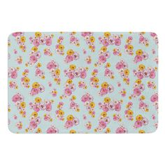 East Urban Home Paper Flower by Laura Escalante Bath Mat
