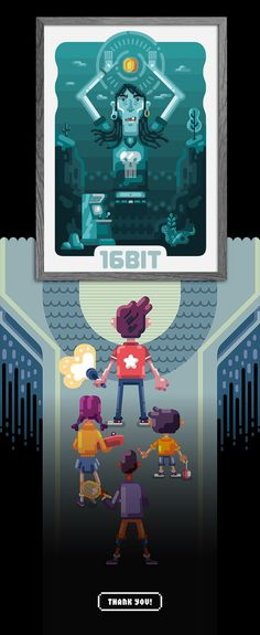 16Bit: A Video Game-Inspired Comic by Raul Aguiar — NEON