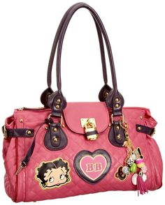 I want this!!!!!!!!!!!!!!!!!!!!!!  Betty Boop Show Off Women's Quilted Handbag (UK & Ireland): £49.99