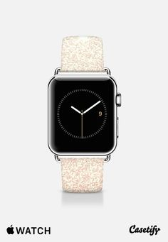 Pink Vintage Faux Glitter Gradient Apple Watch Band (38mm) by BlackStrawberry | Casetify
