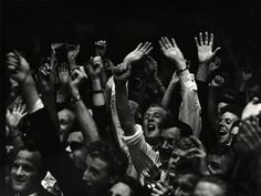 Ed Van der Elsken - Audience at the concert of Benny Goodman in the village Blokker, 15 May, 1958 - Howard Greenberg Gallery William Klein, Eugene Atget, Edward Steichen, Show Of Hands, Berenice Abbott, Gordon Parks, Edward Weston, Like Image, History Of Photography