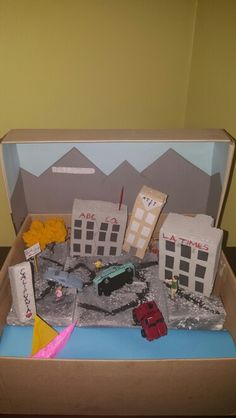 Earthquake Diorama