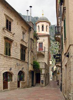kotor montenegró streets - Google Search