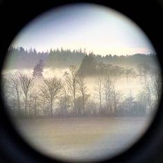 No filter needed! Nature when it is best. Fog through binoculars. #danskjagt #dkhunting #danishhunting #danishnature #nature #nature_perfection #fog #mist #hunting #northernhuntingclub @northernhunting_com