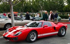 1966 Ford GT40 Mk I - red - fvl | Flickr - Photo Sharing!
