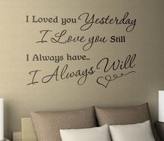 Wall decoration for the bedroom. So sweet!