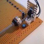 LM317 homemade laser driver / LM317 lasertreiber