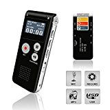 Digital Voice Recorder, Portable Recorder, Multifunctional Rechargeable Dictaphone, FlatLED Audio Voice... Buy Today With Confidence Knowing That Our Digital Voice Recorder Comes With A Lifetime https://thehomeofficesupplies.com/digital-voice-recorder-portable-recorder-multifunctional-rechargeable-dictaphone-flatled-audio-voice-recorder-dictaphone-mp3-music-player-with-mini-usb-port-and-color-lcd-display-black-8gb/