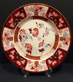 A personal favorite from my Etsy shop https://www.etsy.com/listing/236198186/vintage-japanese-imari-style-charger