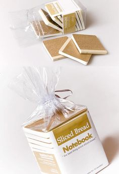 sliced bread packaging perfect for #backtoschool #packaging : ) PD