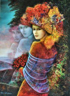 Flower Girl by Rina Sutzkever