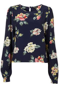 Love this blouse. The cuffs at the ends of the long sleeves are just perfect.