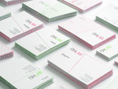 OHLAB business cards by IS Creative Studio
