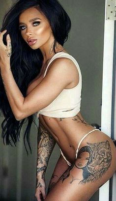 ♥•♥•♥•♥ ☜ #sexy #awesome #fashion #eyes #intopshape #fitness #light #perfect #legs #workout #color #lingerie #tattoo #darkhair #fotoART ☞ ♥•♥•♥•♥•♥•