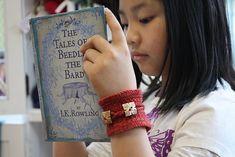 Knitting:  cool bracelet