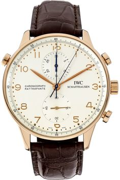 Pre-Owned IWC Portuguese Chronograph Rattrapante Manual (IW371203)