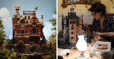Artist Creates Edible Gingerbread House Replica From The Newest Tim Burton's Movie https://plus.google.com/+KevinGreenFixedOpsGenius/posts/bXUW7PcoriE