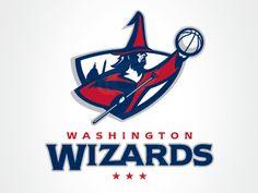 Wizards Wizards by Ian Bakar #logo | American Sport Theme Logo
