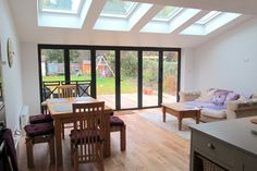 Home improvements that will add value to your property Barn Windows, Sunroom Windows, House Extensions, Kitchen Extensions, Roof Design, House Design, Skylight Design, Kitchen Diner Extension, Roof Lantern