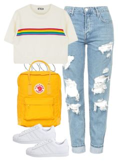 """Untitled #3762"" by plainly-marie ❤ liked on Polyvore featuring ASOS, Topshop, Fjällräven and adidas Originals"