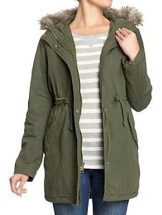 great winter coat from Old Navy!