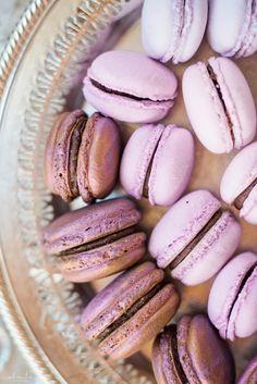 www.alantephotography.com | Purple ombre wedding macarons by Lilac Cake Boutique | Alante Photography