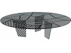 0a6852065beb2 Round coffee table for living room PAYSAGE By ROCHE BOBOIS